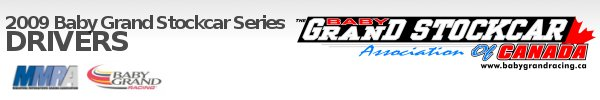 Drivers :: Baby Grand Stockcar Series